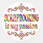 Pasión de Scrapbooking Etiquetas Redondas