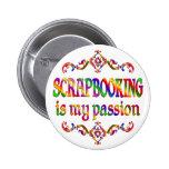 Pasión de Scrapbooking Pin