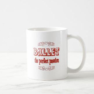 Pasión del ballet tazas de café