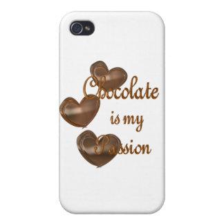 Pasión del chocolate iPhone 4 funda
