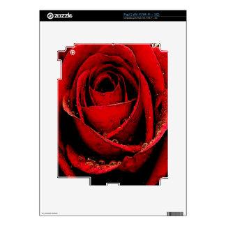 Pasión del color de rosa skin para el iPad 2