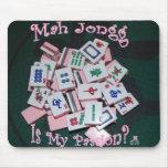 pasión del jongg del mah - mousepad