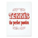Pasión del tenis comunicado personalizado