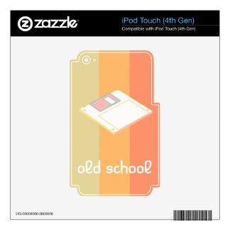 pasión floja iPod touch 4G calcomanías
