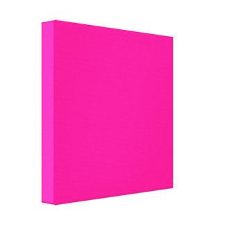 ¡Pasión P23 para el rosa! Color magenta Impresión En Lienzo