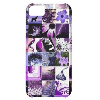 Pasión para el collage púrpura
