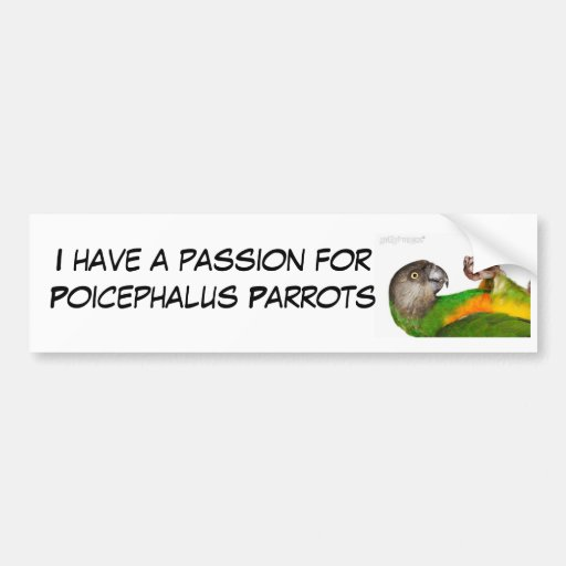 pasión para el Poi Pegatina Para Auto