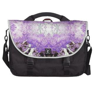 Pasión púrpura bolsas para ordenador