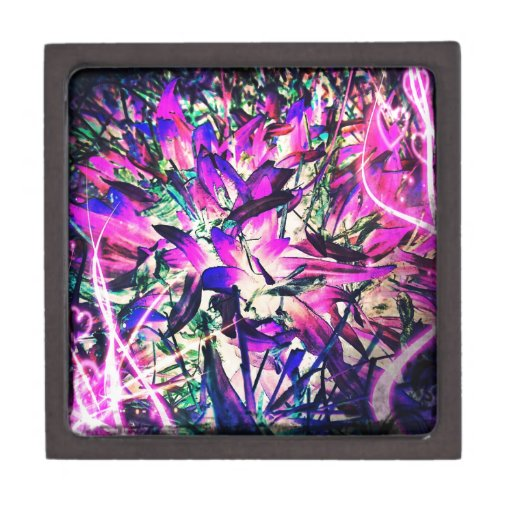 pasión púrpura cajas de recuerdo de calidad