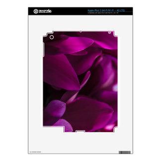 Pasión púrpura pegatina skin para iPad 3