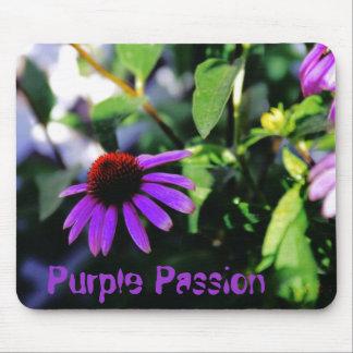 Pasión púrpura alfombrillas de raton