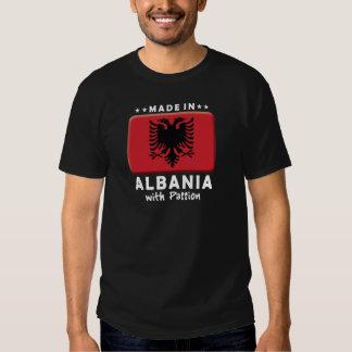 Pasión W de Albania Playeras
