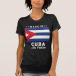 Pasión W de Cuba Camisetas