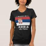 Pasión W de Serbia Camisetas