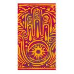 Pasión y magia plantillas de tarjeta de negocio