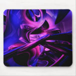 Pasiones fluorescentes Mousepad abstracto