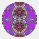 Pasiones púrpuras pegatinas