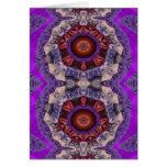 Pasiones púrpuras tarjeta de felicitación
