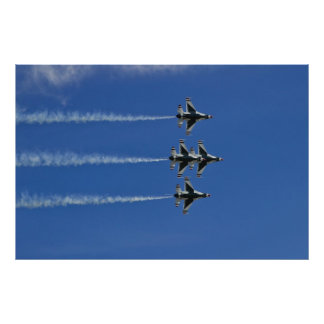Paso 2010 del diamante de los Thunderbirds del Póster