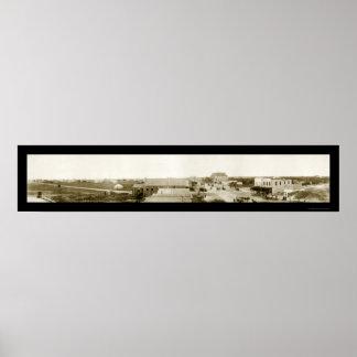 Paso de Aransas, foto 1911 de TX Poster