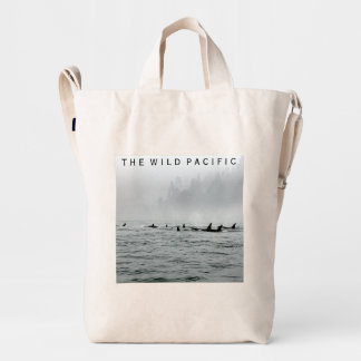 Paso de ballenas bolsa de lona duck