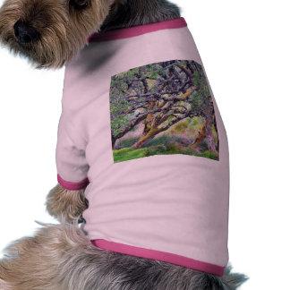 Paso de Glengesh en el árbol viejo de Irlanda Camisa De Perrito