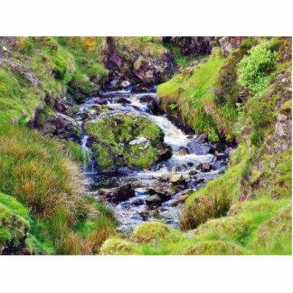 Paso de Glengesh en musgo del agua de los arroyos Esculturas Fotográficas