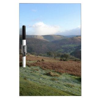 Paso de herradura, Denbighshire, País de Gales Pizarra Blanca