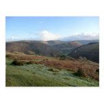 Paso de herradura, Denbighshire, País de Gales Tarjeta Postal