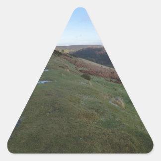 Paso de herradura pegatina triangular