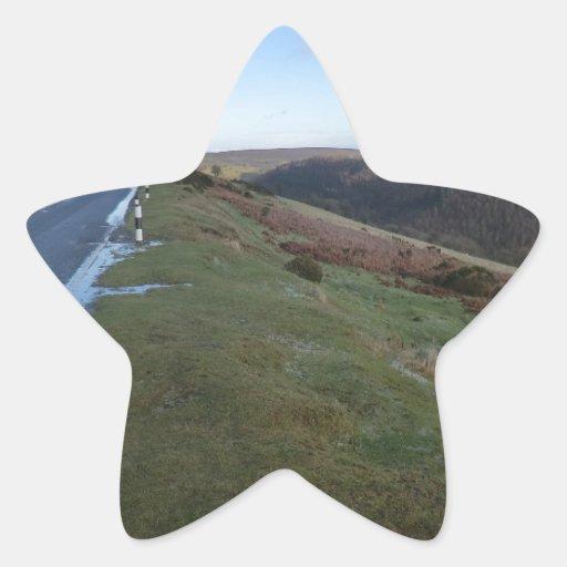 Paso de herradura calcomanía forma de estrella personalizadas