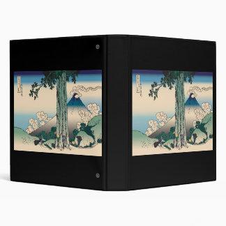 """Paso de Hokusai Mishima en la provincia de Kai Carpeta 1"""""""