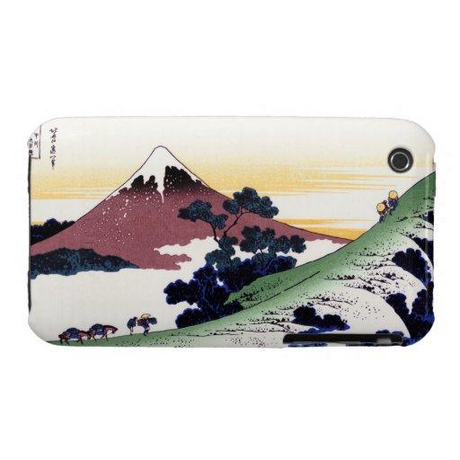 Paso de Inume en la provincia de Kai Katsushika Ho Case-Mate iPhone 3 Cobertura
