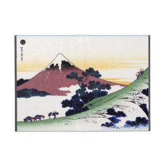 Paso de Inume en la provincia de Kai Katsushika Ho iPad Mini Carcasas