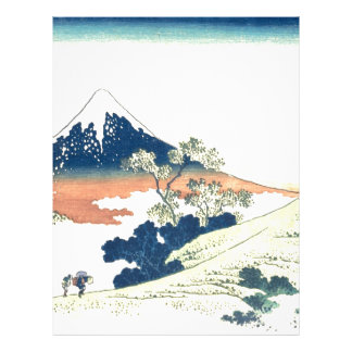 Paso de Inume en la provincia de Kai - Katsushika Membretes Personalizados