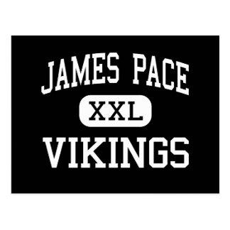 Paso de James - Vikingos - alto - Brownsville Tarjetas Postales