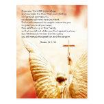 Paso de la biblia, ángel del señor, salmo 91 postales