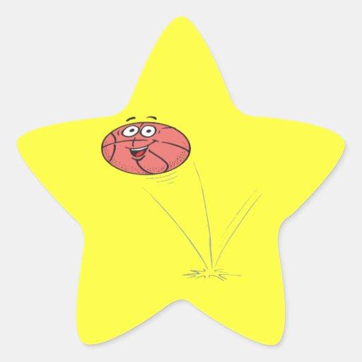 Paso de la despedida calcomanías forma de estrellas personalizadas
