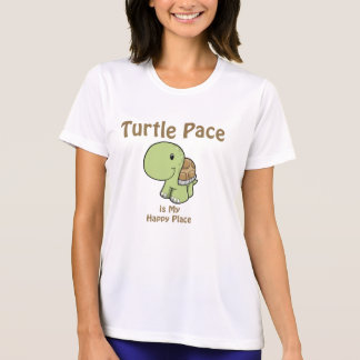 Paso de la tortuga camiseta
