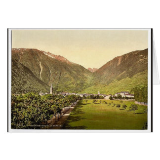 Paso de Martigny y de Forclay, Valais, montañas de Tarjeton