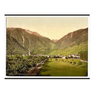 Paso de Martigny y de Forclay, Valais, montañas de Postal