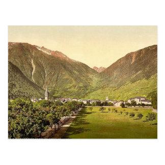 Paso de Martigny y de Forclay, Valais, montañas de Tarjeta Postal