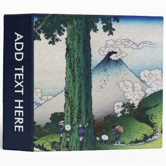 """Paso de Mishima en la provincia de Kai, Hokusai Carpeta 2"""""""