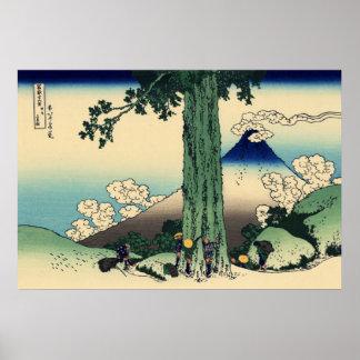 Paso de Mishima en la provincia de Kai Impresiones