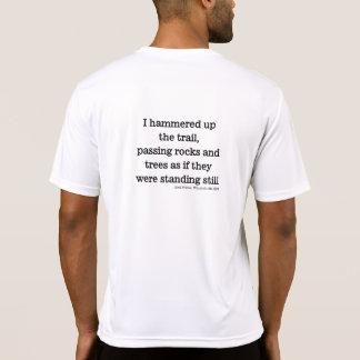 Paso de rocas y de árboles t-shirt