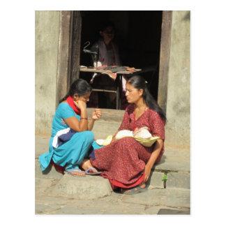 Paso de tiempo en Katmandu Postal