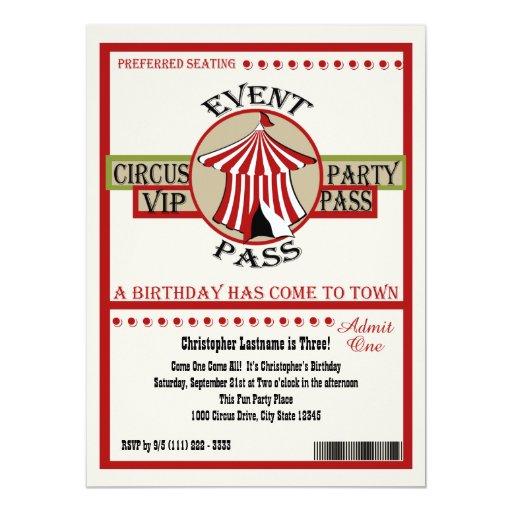 """Paso del acontecimiento de la fiesta de cumpleaños invitación 5.5"""" x 7.5"""""""