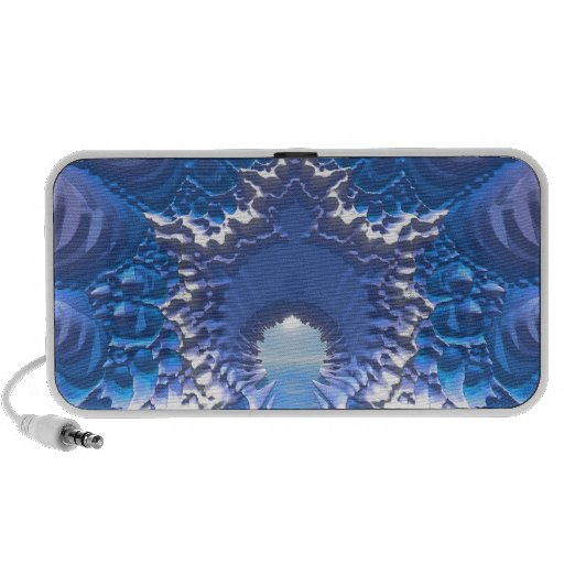 Paso del agua azul notebook altavoces