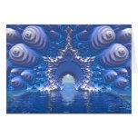 Paso del agua azul tarjeton