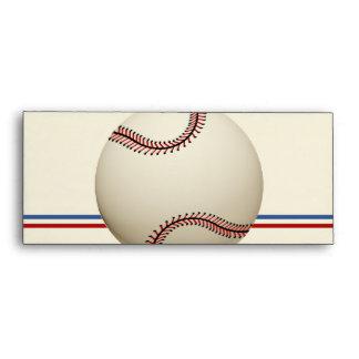 Paso del campo de béisbol del vintage